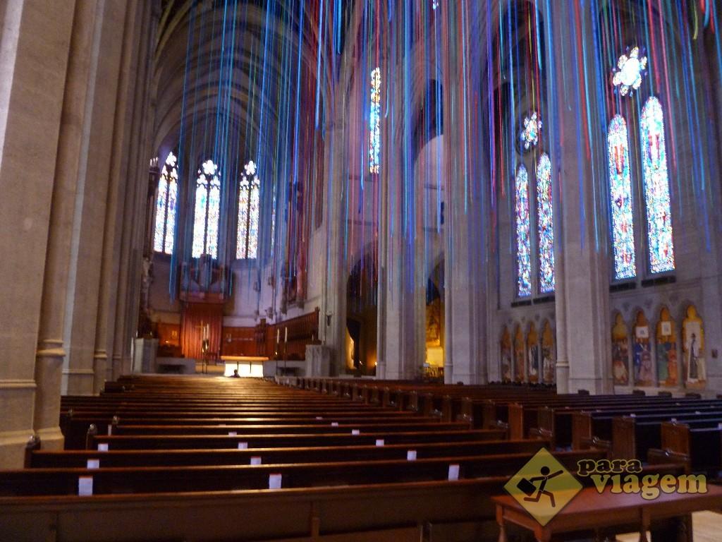 Área Interna da Grace Cathedral