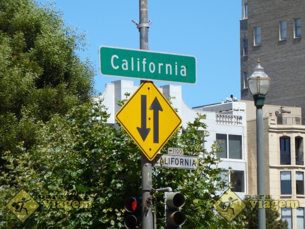 California Street em San Francisco