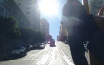 Bondinho Subindo a California Street