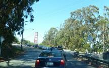 Trânsito para Chegar na Golden Gate