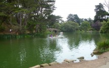Stow Lake no Golden Gate Park