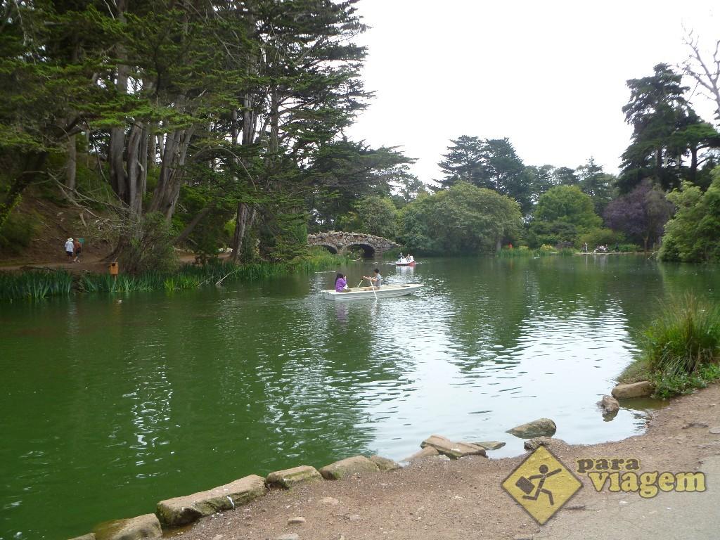 Stow Lake no Golden Gate Park