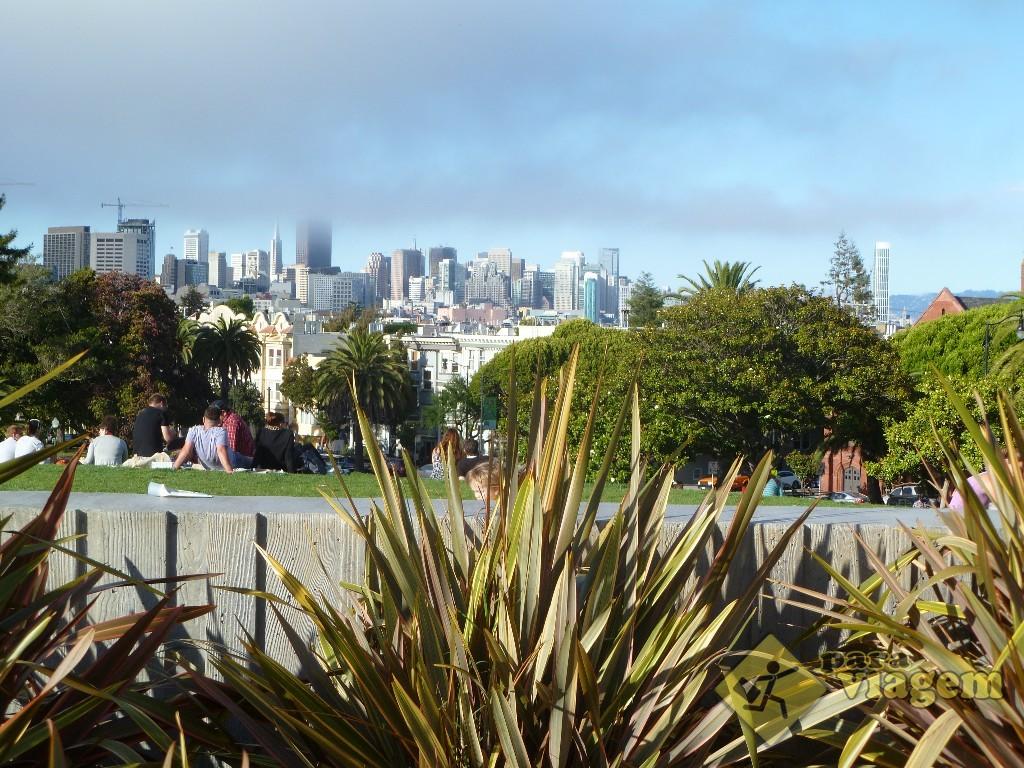 Vista da Cidade no Dolores Park