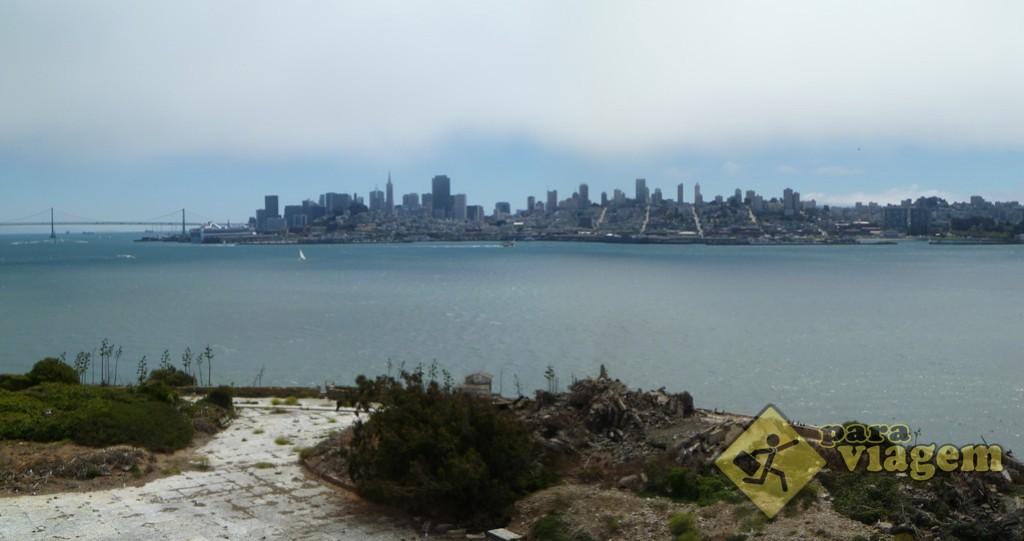 Vista de San Francisco de Alcatraz