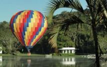 Balonismo pelo parque