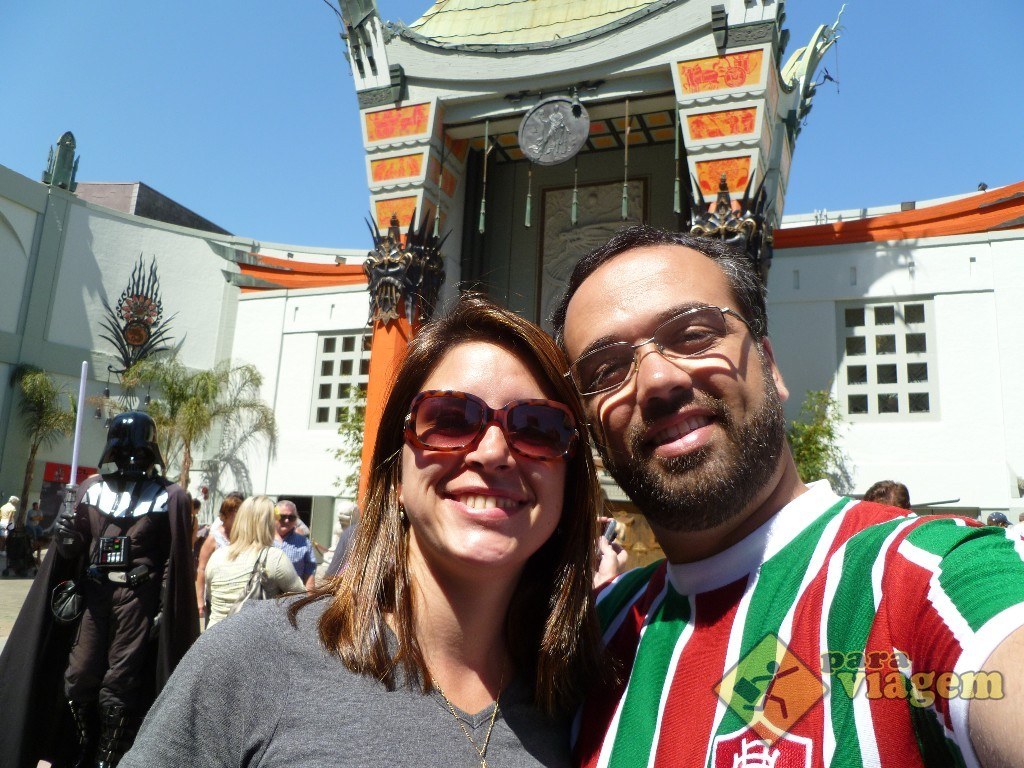 Chinese Theatre na Hollywood Blvd