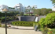 Belo Jardim do Getty Center em LA