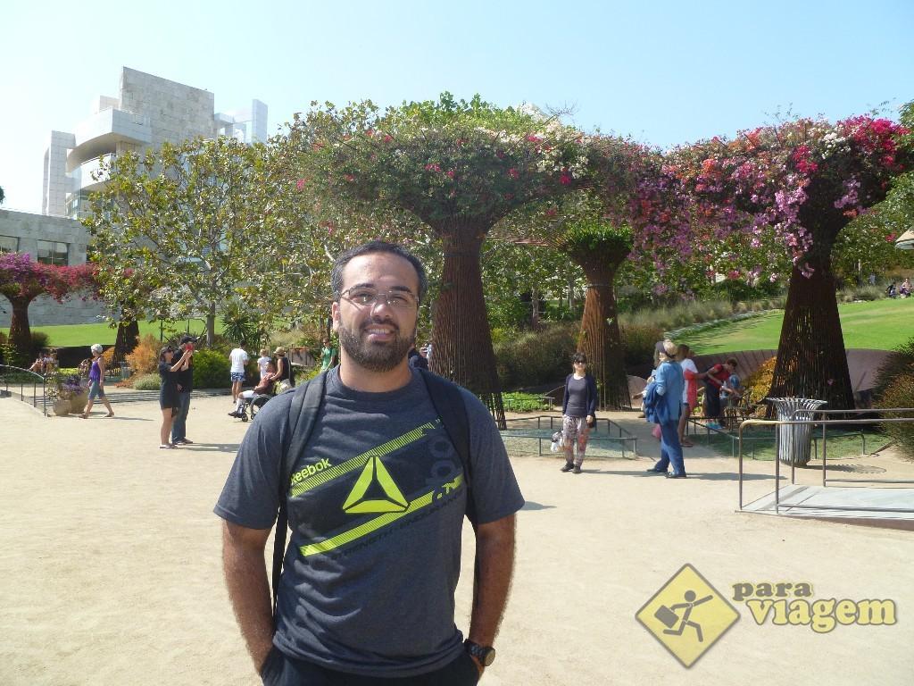 Jardim do Getty Center em Los Angeles