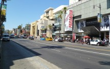 Hollywood Blvd em Los Angeles
