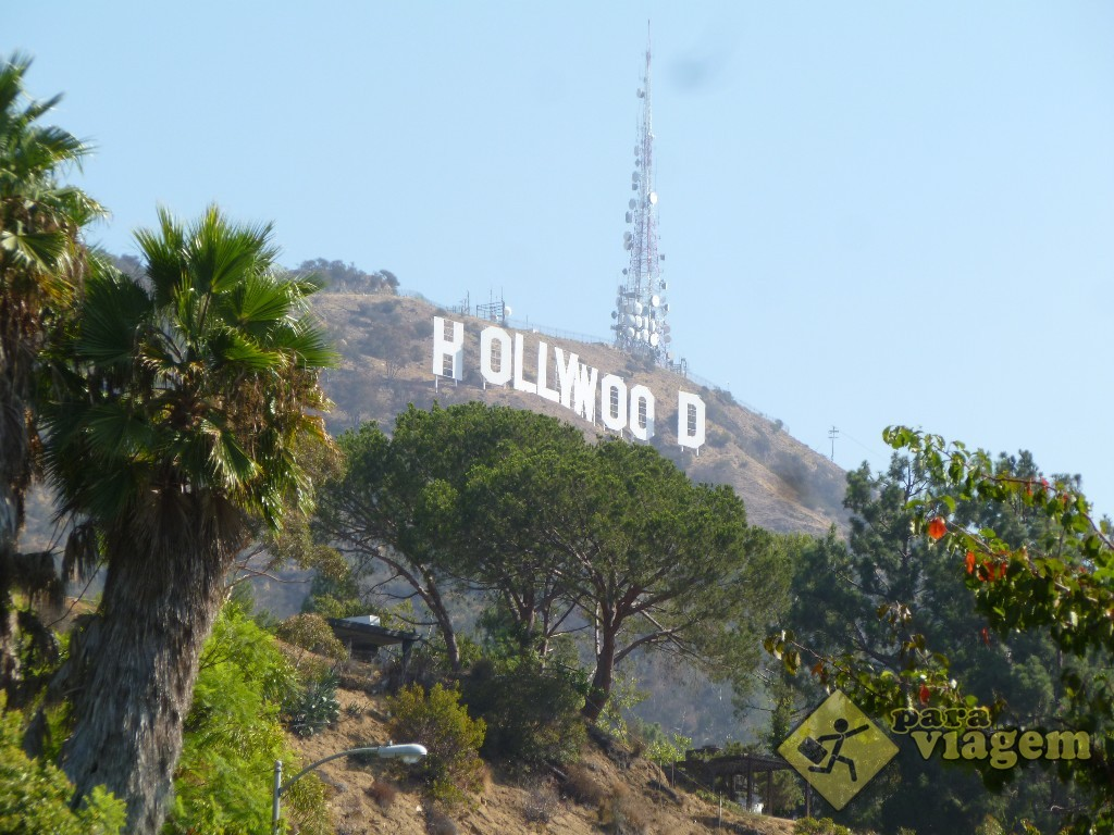 Letreiro de Hollywood em Los Angeles