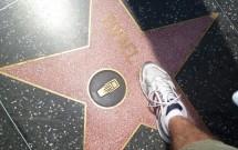 Rafael na Calçada da Fama em Hollywood