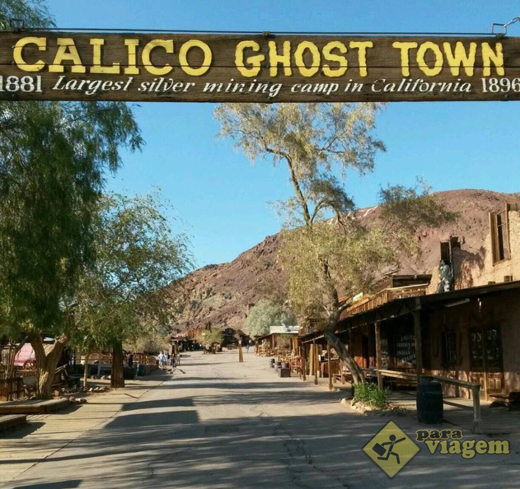 Portal De Entrada De Calico Ghost Town Para Viagem