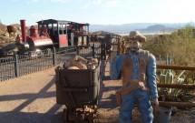 Minerador com seu Vagão de Ouro