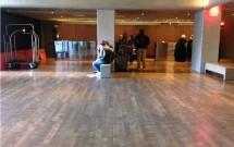 Recepção do Hotel Row em Nova York