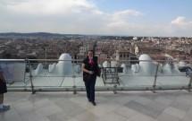 Vista de Roma do Monumento Vittoriano