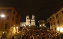 Piazza di Spagna à Noite