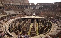 Coliseu visto do andar de cima