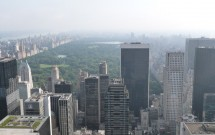 Norte da ilha e Central Park: vista do Top of the Rock