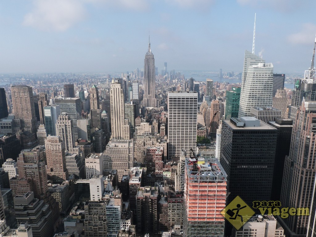 Sul da ilha: vista do Top of the Rock