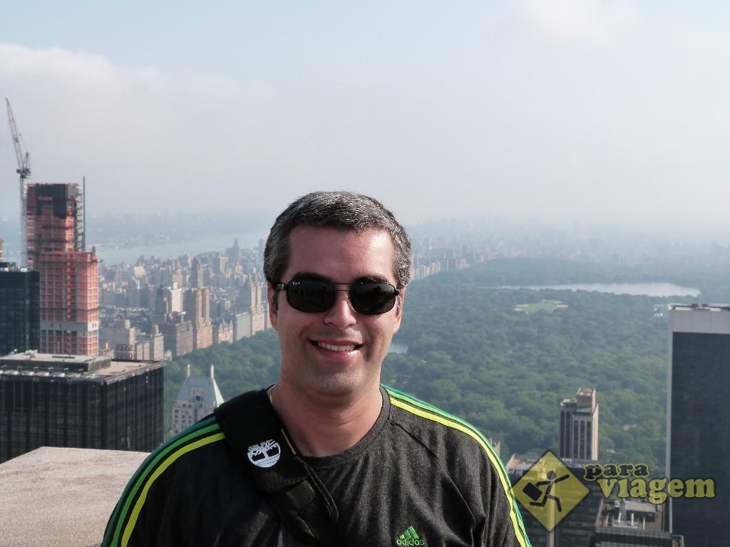 Central Park: vista do Top of the Rock