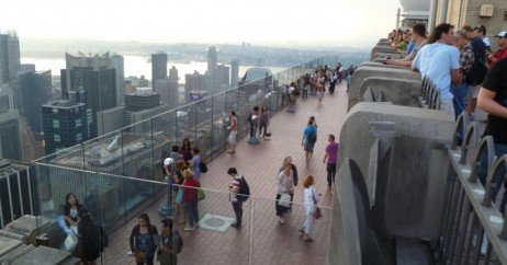 Deck do Top of the Rock