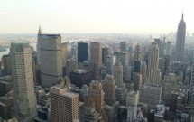 Brooklyn ao fundo: vista do Top of the Rock