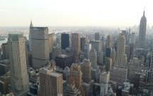 Brooklyn ao fundo: vista do Top of the Rock