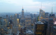 Sul da ilha: por do sol no Top of the Rock