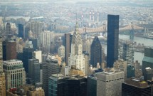 Detalhe do Chrysler Building: vista do Empire State