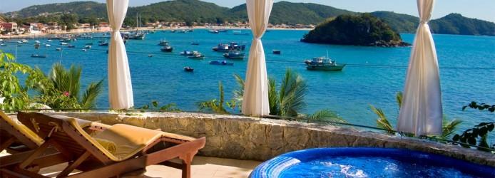 Hotel em Búzios com Vista para o Mar