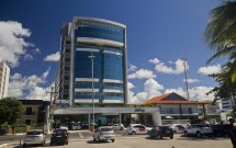 Frente do Hotel Best Western Premier Maceió