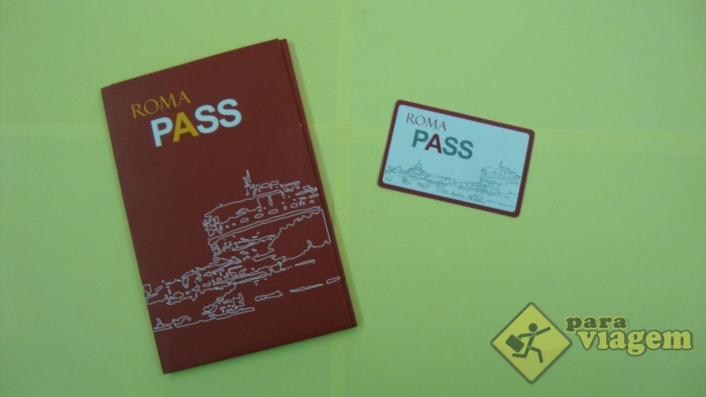Kit e Cartão Roma Pass