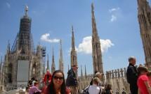 Telhado do Duomo e a Madonnina