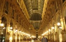 Galleria Vittorio Emanuelle à noite