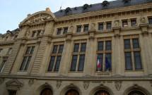 Um dos prédios de Sorbonne