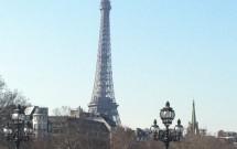 A Torre Eiffel é vista de toda parte