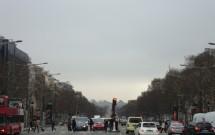 Champs-Élysées visto do Arco do Triunfo