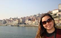 Porto visto do andar de baixo da Ponte Luís I