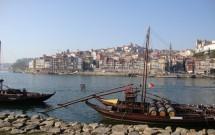 Vista para o Porto e o rabelo