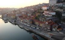 Porto visto do andar de cima da Ponte Luís I