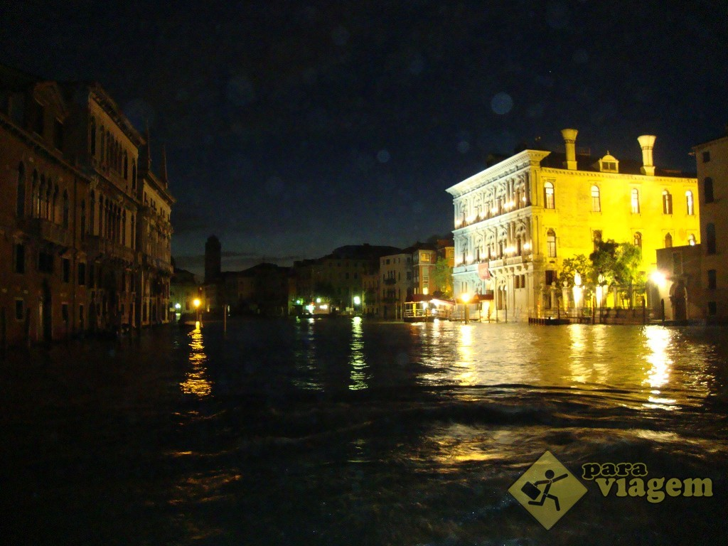 Grande Canal à noite