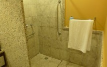 Banheiro sem boxe do quarto 1067