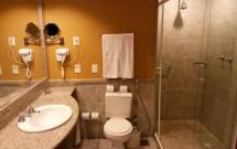Banheiro do quarto do Vila Galé