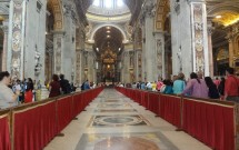 O interior da Basílica