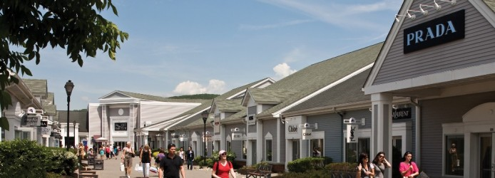 Woodbury Outlet em Nova York