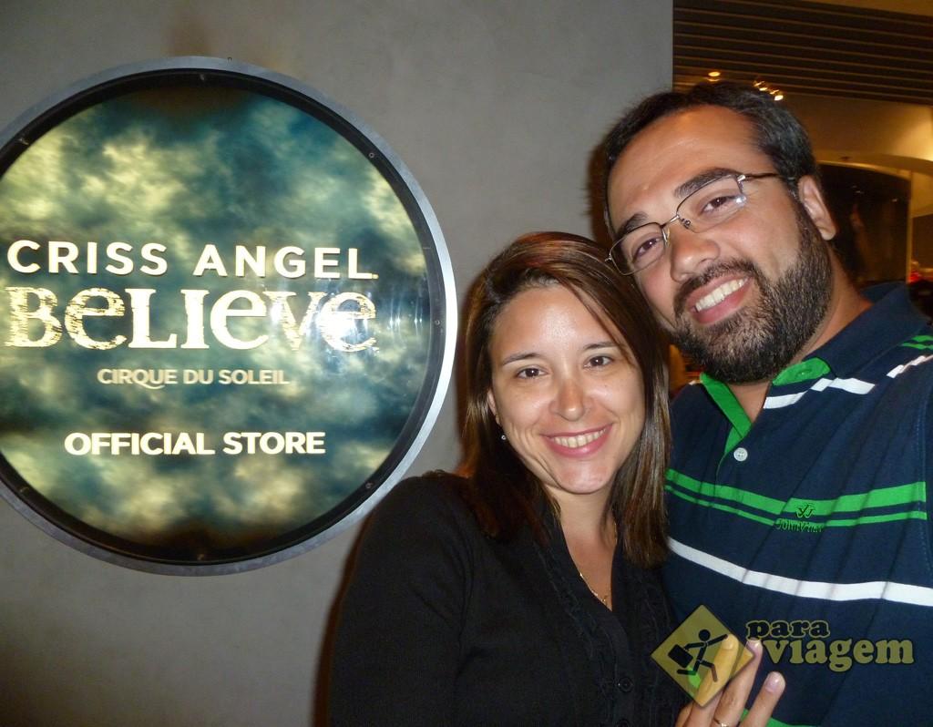 Cris Angel Believe by Cirque du Soleil