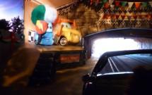 Dentro do Radiator Spring Racers