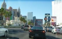 Dirigindo Pela Strip em Las Vegas