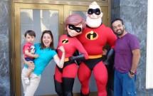 Com a Família Incrível no California Adventure Park