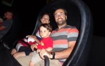 Dentro da Haunted Mansion na Disneyland